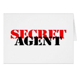 Agente secreto tarjetas