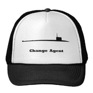 Agente sub del cambio gorras de camionero