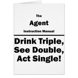 agente tarjeta