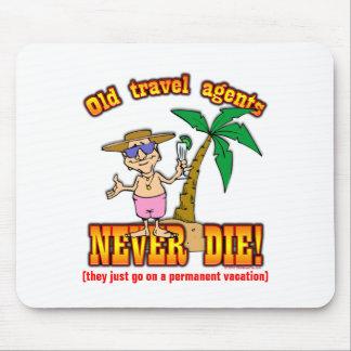 Agentes de viajes tapete de raton