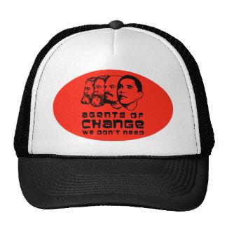 Agentes del cambio que no necesitamos gorras de camionero