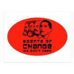 Agentes del cambio que no necesitamos postal