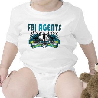 Agentes del FBI idos salvajes Camiseta