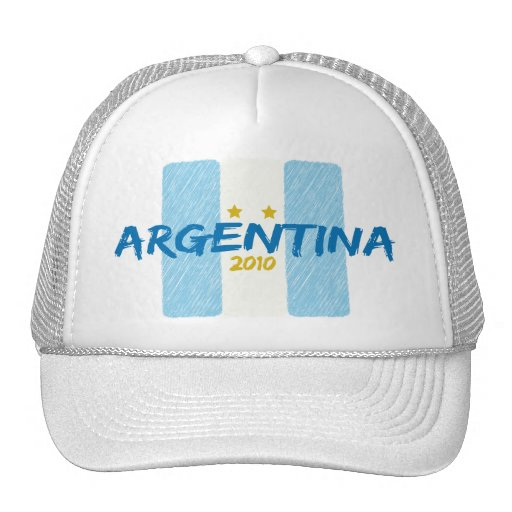 Agentina Futbol 2010 Hats