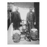 Agents Displaying Whiskey Still, 1920 Post Card