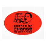 Agents of change we don't need custom letterhead