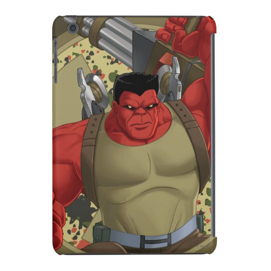 Agents of Smash Red Hulk iPad Mini Cover