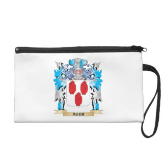 Ager Coat Of Arms Wristlet Clutches