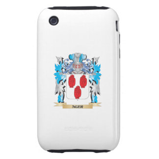 Ager Coat Of Arms iPhone 3 Tough Case