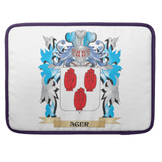 Ager Coat Of Arms Sleeve For MacBook Pro