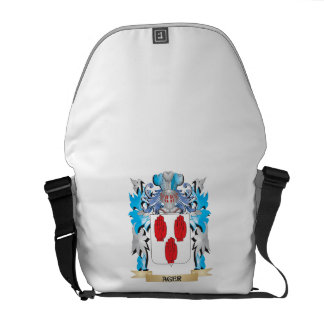 Ager Coat Of Arms Messenger Bags
