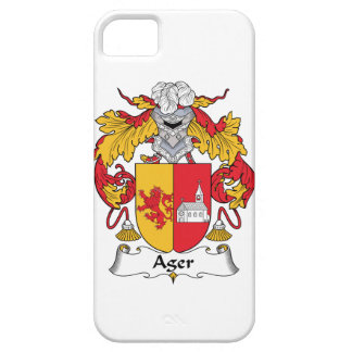 Ager Family Crest iPhone 5 Cover