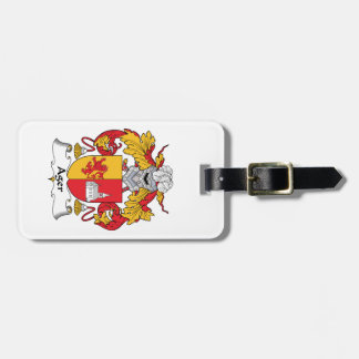 Ager Family Crest Luggage Tags