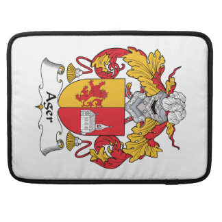 Ager Family Crest MacBook Pro Sleeves