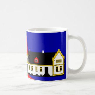 Agersboel Classic White Coffee Mug