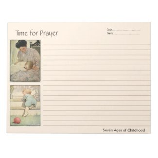 Ages of Childhood Prayer Notebook