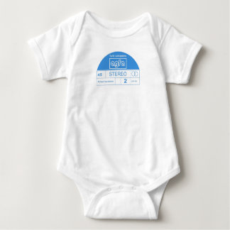 AGFA Funk Weapons logo from the 15th release Baby Bodysuit