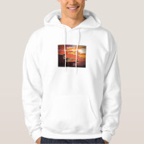 Aggelikis Abstract Pattern Pullover Hoodie