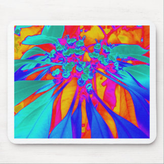 Aggelikis Digital Floral Pattern Mouse Pad