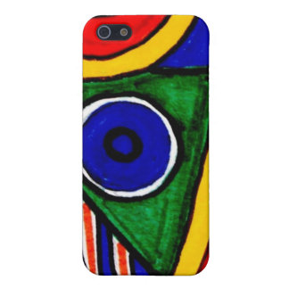 Aggelikis Geometric Pattern iPhone SE/5/5s Cover