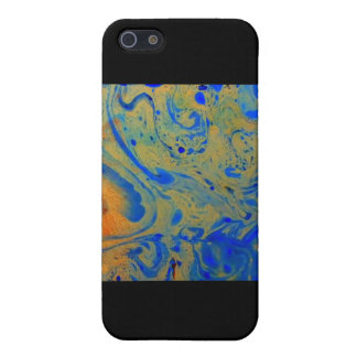 Aggelikis Marbling - 5 Design iPhone SE/5/5s Cover