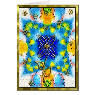 aggel's flower card