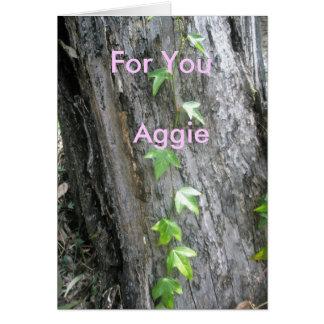 Aggie Greeting Card