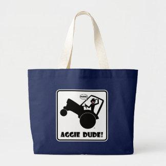 AGGIE DUDE 1 LARGE TOTE BAG