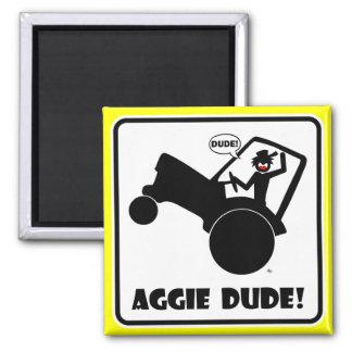 AGGIE DUDE 1 MAGNET