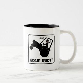 AGGIE DUDE 1 Two-Tone COFFEE MUG