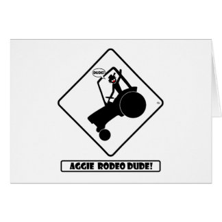 AGGIE RODEO w1 Card