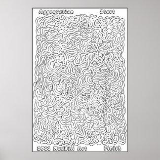 Aggravation Maze Poster