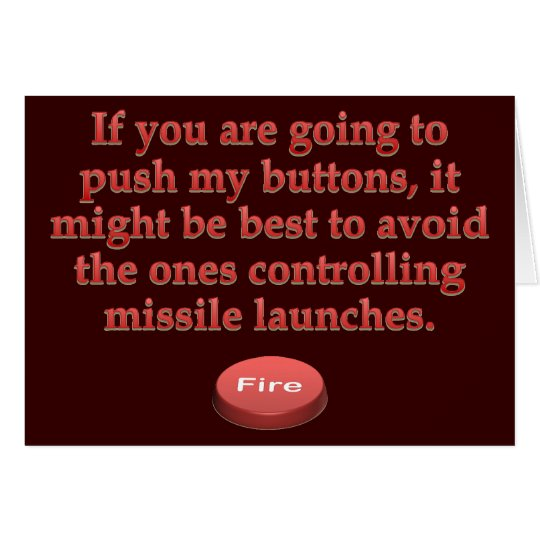 Aggravation: stop pushing my buttons card
