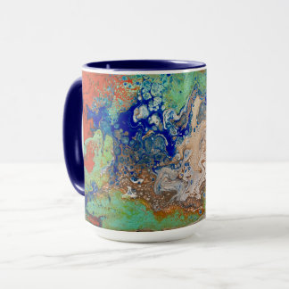 Aggregation Abstract Art Mug