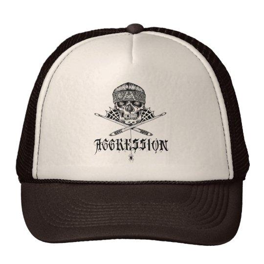 Aggression_Hat Gorro De Camionero