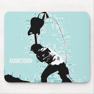 Aggression Mouse Pads