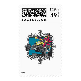 Aggressive All Terrain Postage Stamp