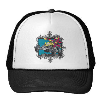 Aggressive All Terrain Trucker Hat