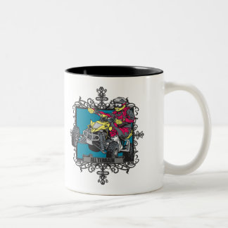 Aggressive All Terrain Two-Tone Coffee Mug