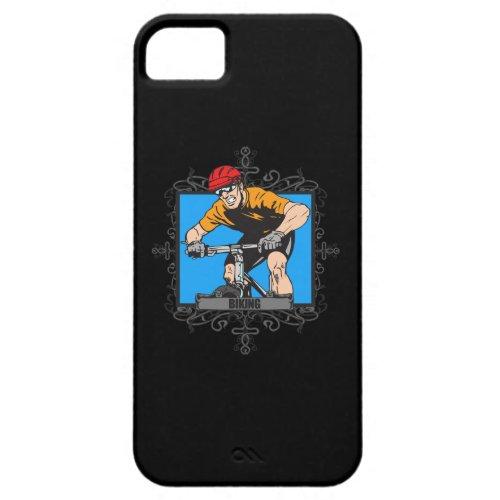Aggressive Biking iPhone SE/5/5s Case