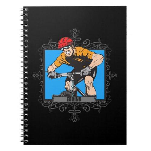 Aggressive Biking Notebook