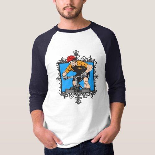 Aggressive Biking T-Shirt