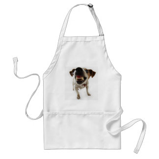 aggressive dog adult apron
