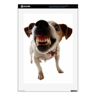Aggressive dog - angry dog - funny dog PS3 skins