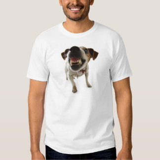 aggressive dog t shirt