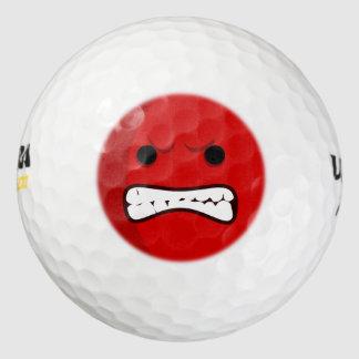 Aggressive Golf Ball