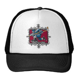 Aggressive Hockey Trucker Hats