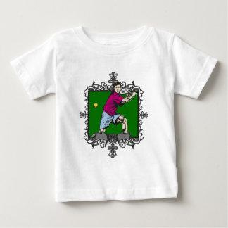 Aggressive Men's Tennis Baby T-Shirt