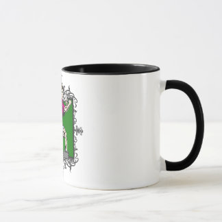 Aggressive Men's Tennis Mug