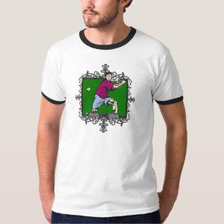 Aggressive Men's Tennis T-Shirt